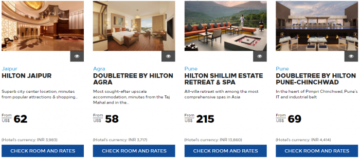 Hilton Honors India Up TO 30 Percent Off 2