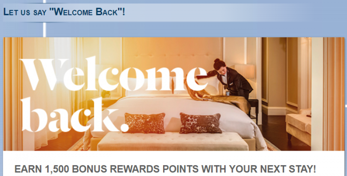 Le Club AccorHotels 1,500 Bonus Points July 13 - September 30 2017