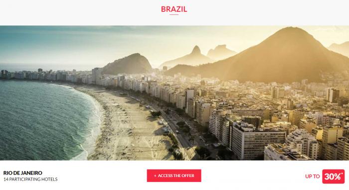 Le Club AccorHotels Worldwide Private Sale July 26 2017 Brazil 1