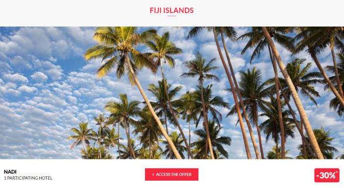 Le Club AccorHotels Worldwide Private Sales July 19 2017 Fiji 1