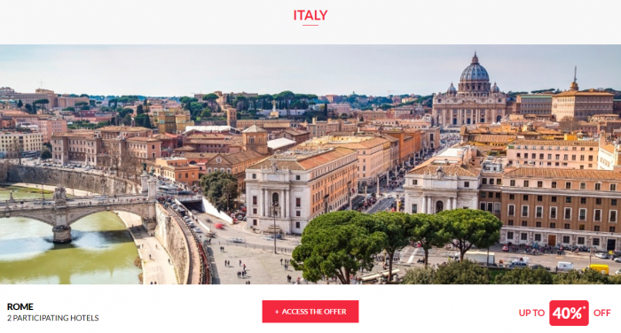 Le Club AccorHotels Worldwide Private Sales July 19 2017 Italy 1