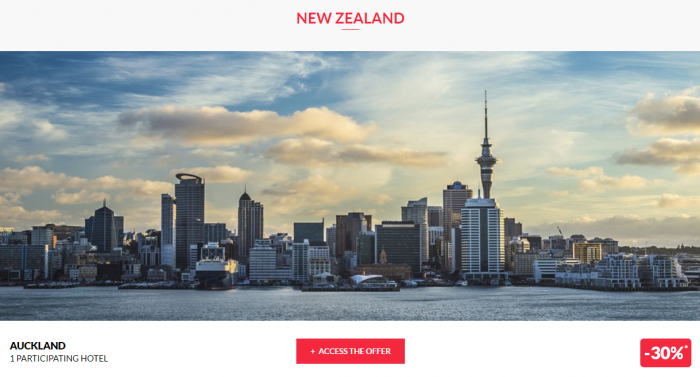 Le Club AccorHotels Worldwide Up To 50 Percent Off Private Sale July 5 2017 New Zealand 1