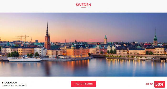 Le Club AccorHotels Worldwide Up To 50 Percent Off Private Sale July 5 2017 Sweden 1