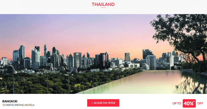 Le Club AccorHotels Worldwide Up To 50 Percent Off Private Sale July 5 2017 Thailand 1