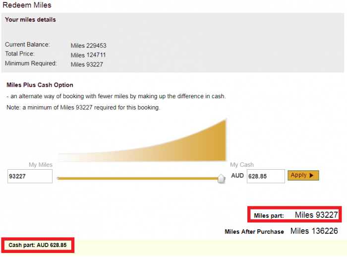 Etihad Airways Guest Buy Miles Redeem 2