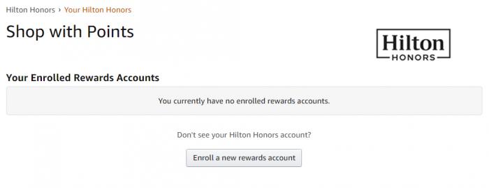 Amazon Hilton Link