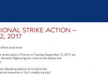 French National Strike September 12 2017