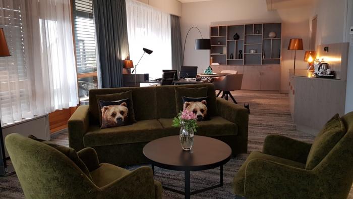 Hilton Helsinki Strand Living Room