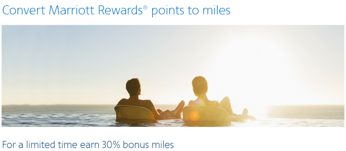 American Airlines Marriott Rewards Conversion Bonus Fall 2017