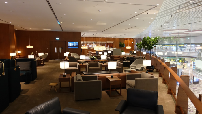 First Look Cathay Pacific Singapore Changi Terminal 4