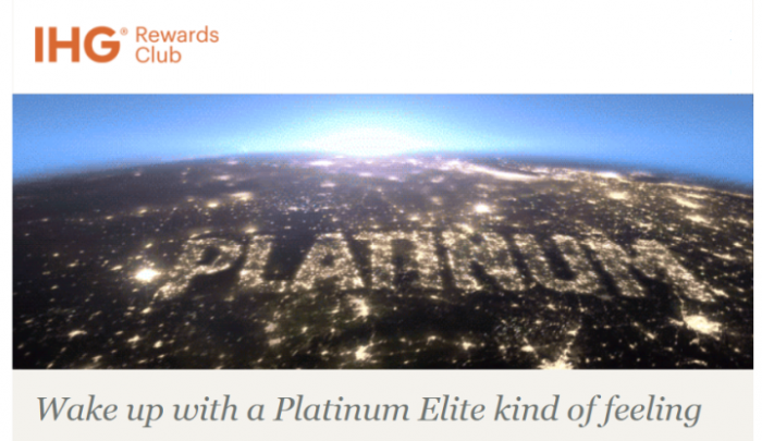 IHG Rewards Club Platinum Retain U