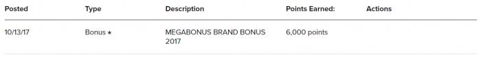 Marriott Rewards Infinite Promotion Brand Bonus