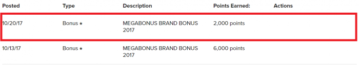 UPDATE Marriott Rewards Infinite MegaBonus Brand Bonus Posting (Check Yours!)