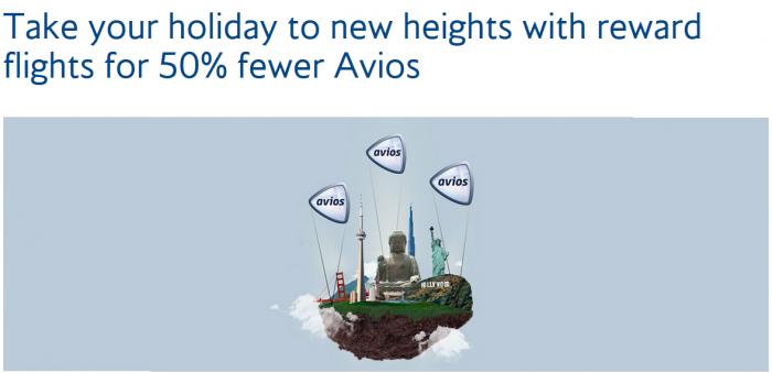 British Airways Executive Club Avios Award Sale December 2017