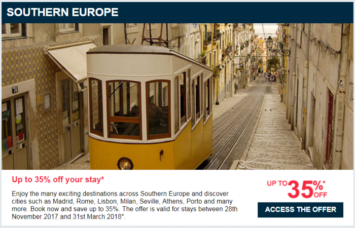 Le Club AccorHotels Private Sales Southern Europe