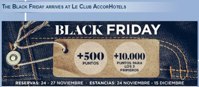 Le Club AccorHotels Spain & Portugal Black Friday 2017