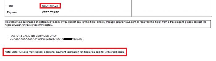 Whine Wednesdays Qatar Airways Payment Verification QR Issues