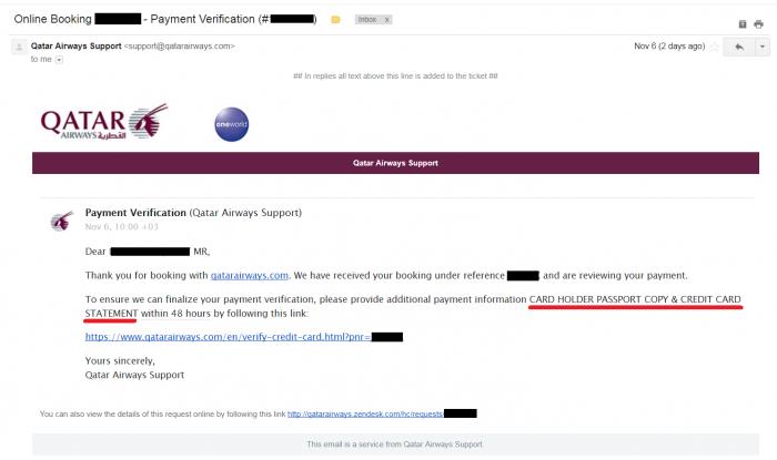 Whine Wednesdays Qatar Airways Payment Verification U
