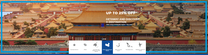 Hilton Honors Asia-Pacific Up To 25 Percent Off Sale China