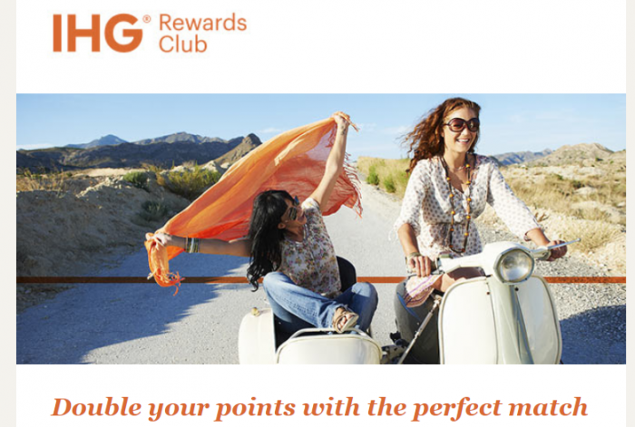 IHG Rewards Club Buy Points Flash Sale Update