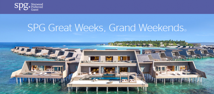 SPG Great Weeks Grand Weekends 2018 N U