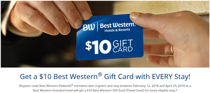 Best Western Rewards Spring 2018