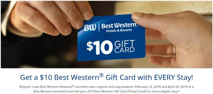 Best Western Rewards Spring 2018