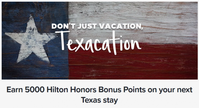 Hilton Honors Texacation