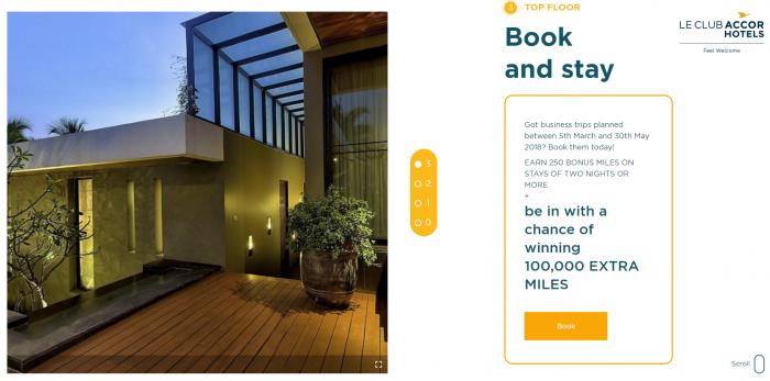 Le Club AccorHotels Air France-KLM FlyingBlue 250 Bonus Miles Spring 2018