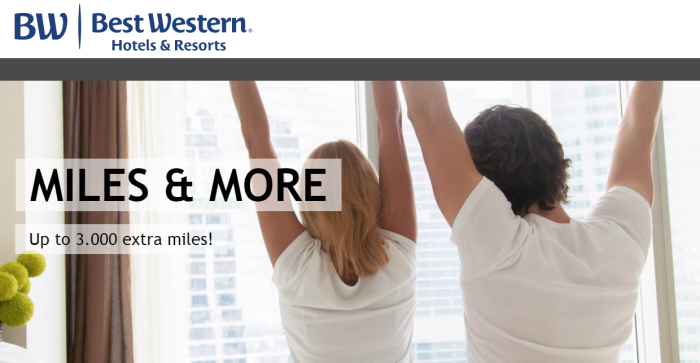 Best Western Rewards Lufthansa Miles&More Spring 2018