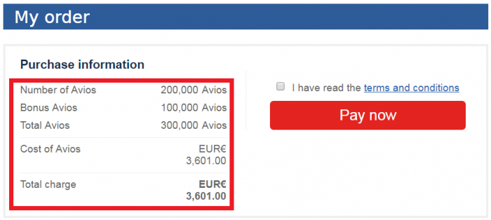 British Airways Executive Club Buy Avios April 2018 Price