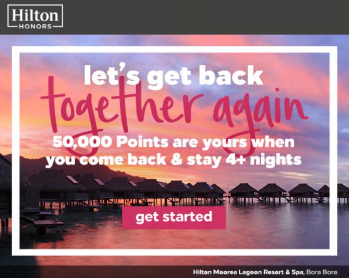 Hilton Honors 50K Winback 2018