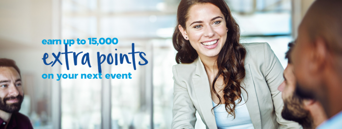 Hilton Honors Meeting Planner Bonus Points