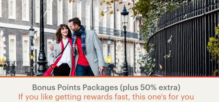 IHG Rewards Club Bonus Points Package Promotion