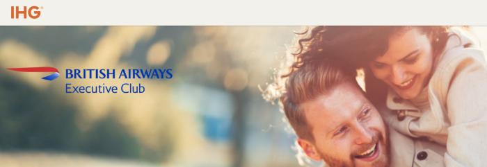 IHG Rewards Club British Airways Executive Club Avios