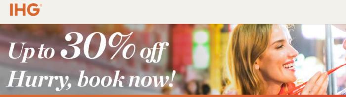 IHG Rewards Club Southeast Asia & Korea Sale