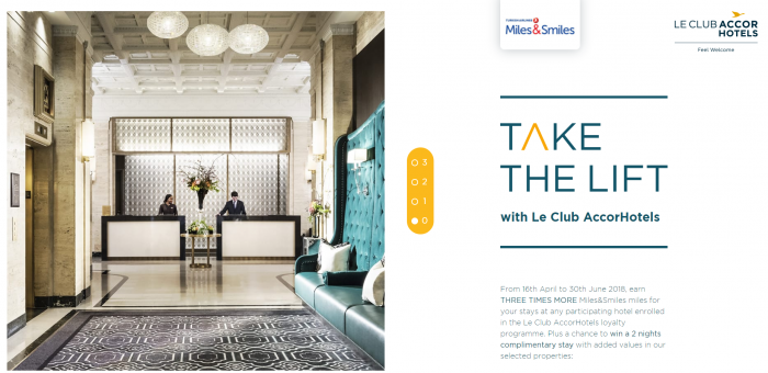 Le Club AccorHotels Turkish Airlines Miles&Smiles Spring 2018 Promo