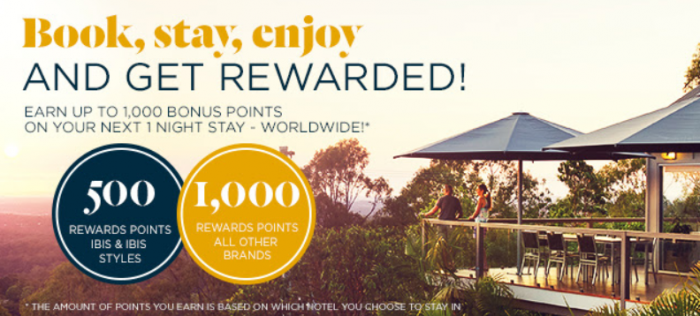 Le Club AccorHotels Up To 1,000 Bonus Points For A Stay