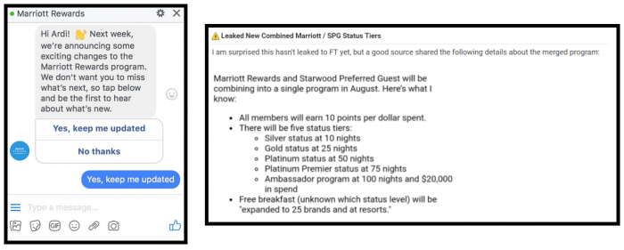 Marriott Rewards Changes