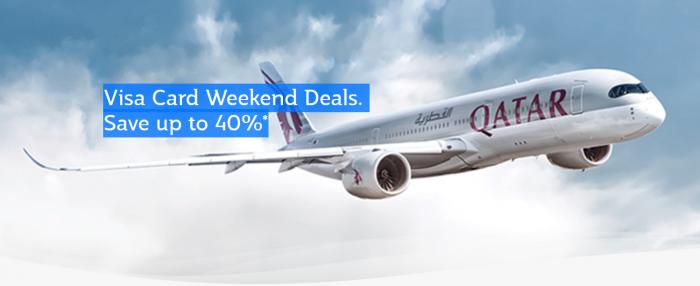 Qatar Airways Privilege Club Visa Weekend Deals
