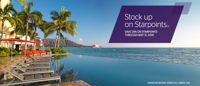 SPG Buy Starpoints April 2018
