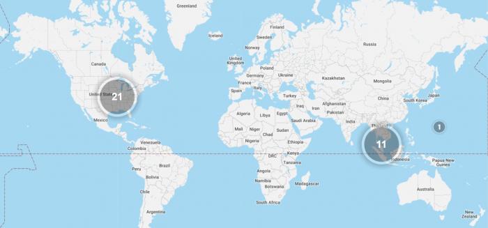 SPG Hot Escapes April 11 2018 Map