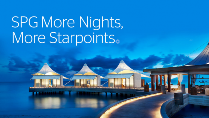 SPG More Nights More Starpoints U