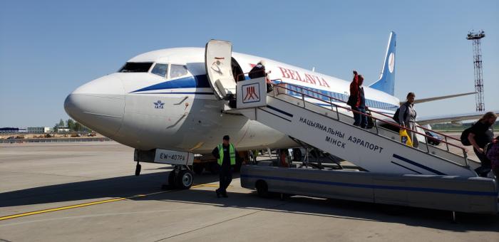 Belarus Welcome Plane