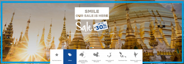 Hilton Honors Southeast Asia-Sale May 2018