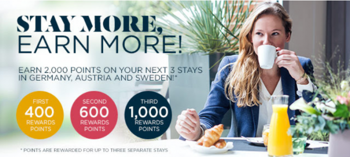 Le Club AccorHotels Austria Sweden Germany Up To 2000 Points