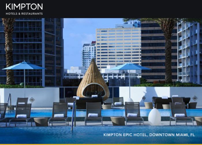 IHG Rewards Club Kimpton Summer Sale