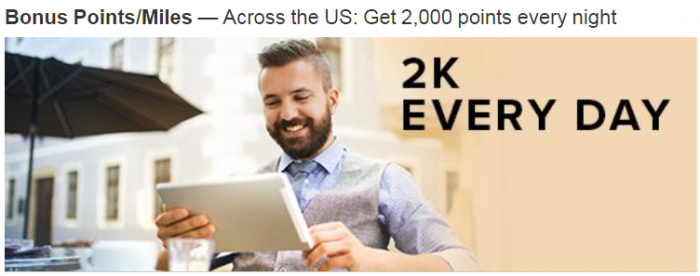 Marriott Rewards 2,000 Bonus Points Select Courtyards