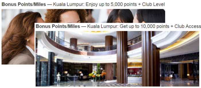 Marriott Rewards KL 10K AC Offer Summer 2018