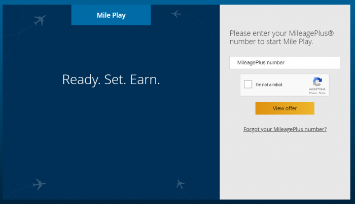 United Airlines Mileage Plus >> United Airlines Mileageplus Mile Play Promo Fly By August 12